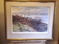 SIGNED DOUGLAS PHILLIPS DUNDEE PRINTS
