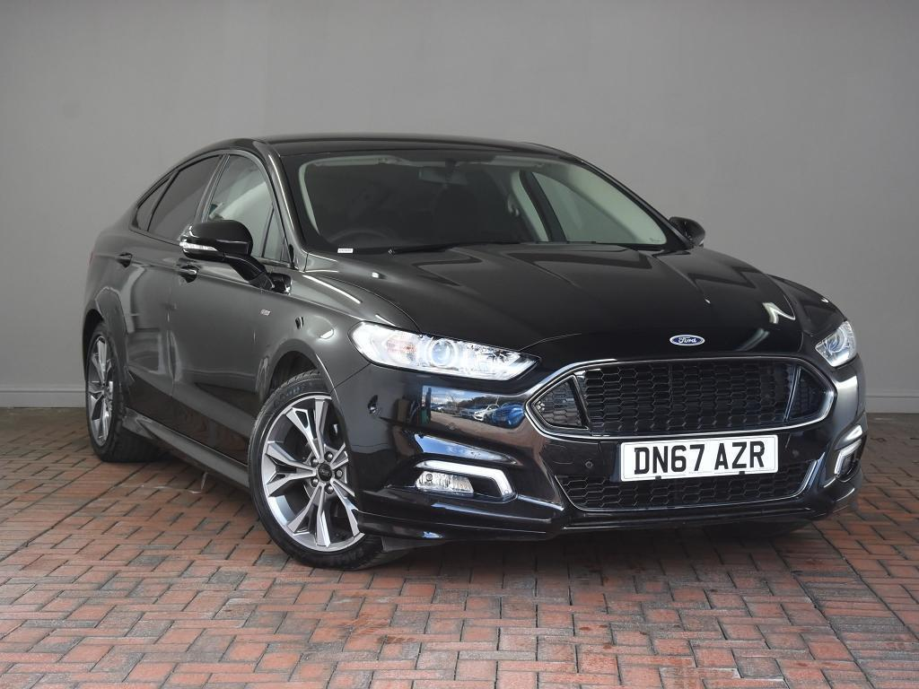 ford mondeo 2 0 tdci 180 st line apple carplay android auto 5dr black 2017 in winsford. Black Bedroom Furniture Sets. Home Design Ideas