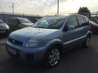 2007 Ford Fusion zetec 1.6 tdci 5 door hatchback genuine low mileage