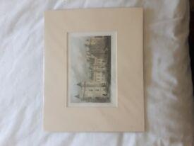 5 Prints for Sale - Old Edinburgh