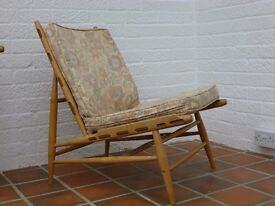 Ercol 427 Lounge Chair Retro Vintage Mid Century. In Stansted Mountfitchet