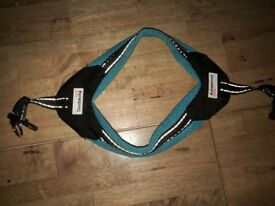 Doodle Bone Harness -Extra Small- Blue
