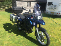 BMW F650gs 800cc Fully Loaded Adventure Bike F700gs F800gs, used for sale  Petersfield, Hampshire