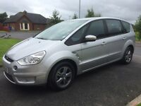"""07 FORD S-MAX 2.0 TDCI ZETEC 7 SEATER """"REDUCED"""" P/EX WELCOME"""