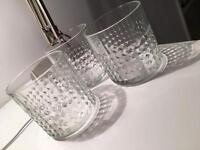 IKEA FRASERA Whiskey Glassw