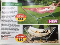 Deluxe Cream Hammock - brand new, unused