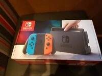 Nintendo Switch Console Boxed