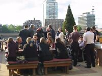 Deputy Manager for very busy bar/restaurant-The Riverside, Vauxhall £23k-£25k LIVE OUT