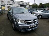 59 PLATE DODGE JOURNEY. 7 SEATER. AUTOMATIC. TURBO DIESEL. PX WELCOME