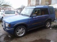 Land Rover DISCOVERY TD5 S,Electric Blue 7 seat 4x4,full MOT,clean tidy car,runs and drives well