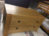 Solid oak chest of drawers new sale