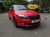 CHEAP 2011 SKODA FABIA 1.4 16V MONTE CARLO, ONLY 44,000 MILES, FULL HISTORY, THIS WEEKEND ONLY