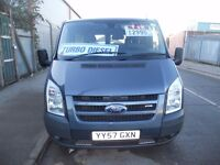 (2008)FORD TRANSIT 85T260S FWD,VERY TIDY & CLEAN VAN ,LONG M.O.T..S/S/H.....