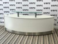 Curve Reception Desk