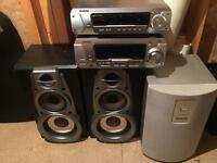 Technics amplifier and speakers
