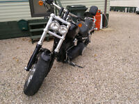 harley davidson fat bob with full servis history part x 883 or1200 efi sportster ( bike was cat D)