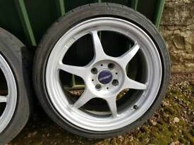 Buddy Club alloy wheels