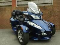 2013 CAN AM SPYDER RT TRIKE SEMI AUTO BLUE 13K