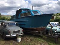 26 foot Creighton cabin cruiser for sale