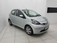 TOYOTA AYGO 1.0 VVT-i + AUTOMATIC MULTIMODE 5 DOOR-12 MONTH MOT-12 MONTH WARRANTY-£0 DEPOSIT FINANCE