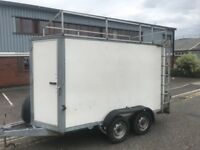 Ifor Williams box trailer bv105