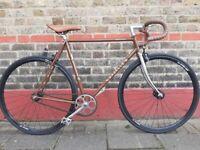 Vintage custom built gazelle Reynolds 531 singlespeed bike
