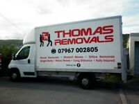 THOMAS REMOVALS Man & Van Service