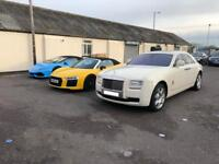 Chauffeur service, Phantom hire, Rolls Royce Ghost hire, bentley, Car hire, Chauffeur Service