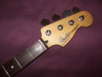 Fender Precision Bass , P-Bass Neck Mexico , Mexican , MIM (2005-2006) + Tuners.
