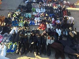Job lot 500 pairs of shoes ( £2 a pair )
