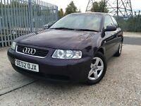 Audi A3 1.6 petrol full history !!(not golf, corsa,polo)