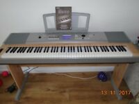 Yamaha DGX-620 Portable Grand Keyboard + manual and dust cover