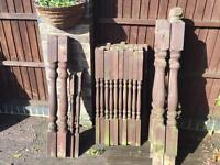 Used decking rails