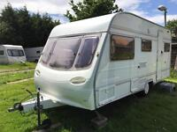 Touring Caravan 4/5/6 berth Avondale Ulysses 1996 lovely condition awning available Clevedon