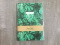 Botanical jungle print A5 notebooks by Sass & Belle