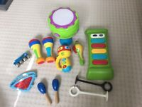 Baby/toddler musical toys