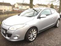 2010 Renault Megane 1.6 VVT Exsprssion 3dr Coupe eg punto corsa fiesta focus 308 clio astra golf a3