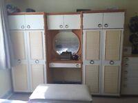 Gorgeous Designer wardrobes with matching set of drawers