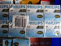 Selection of Philips and Osram Light Bulbs