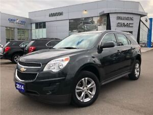 2014 Chevrolet Equinox One owner accident free