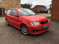 VW POLO MK5 GTI 6N2 1.6 16V RED 3 DOORS 88000 MILES