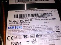 1tb Samsung hdd SATA