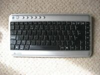 A4 Tech Compact Mini Keyboard – USB