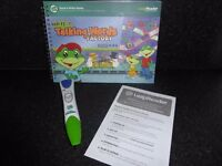 Leapfrog LeapReader Green - comes with original demo book and additional books , used once - £35