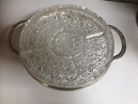 Silver Plated Snacking Tray