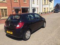 Vauxhall Corsa 1.3 Diesel CDTi ecoFLEX 16v Exclusive 5DR 2012 black Long MOT £30 a year road tax