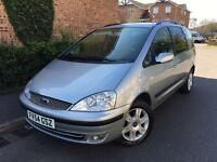 2004/54 Ford Galaxy GHIA TDDI 1.9 6G Full Service History DVD Screens Rear Top Spec