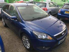 FORD FOCUS 1.6 TDCi Zetec 5dr [110] [DPF] (blue) 2010