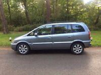 2005 Vauxhall Zafira 1,6 litre 5dr 7 seater