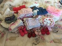 Girls newborn/0-3 bundle